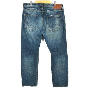 PRPS Barracuda Distressed Button-Fly Jeans 38x34